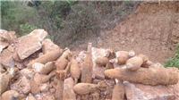 Phát hiện kho đạn pháo trong sân của trụ sở Tỉnh ủy Quảng Ngãi