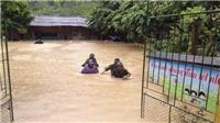 VIDEO: Mưa lũ tiếp tục hoành hành ở Điện Biên