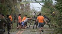 Hình ảnh siêu bão Mangkhut cầy nát Philippines với sức gió hủy diệt