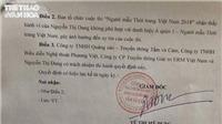 Chính thức thu hồi danh hiệu của Thư Dung vì 'vi phạm pháp luật'
