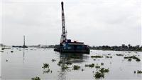 Chìm sà lan chở cát trên sông Hậu, 2 mẹ con tử vong