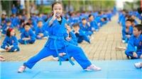 7.000 học sinh sinh viên đồng diễn võ thuật xác lập kỷ lục Việt