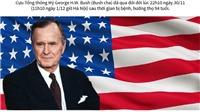 Đồ họa: Những dấu mốc trong sự nghiệp chính trị của Tổng thống Mỹ Bush