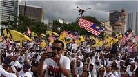CĐV Việt Nam chú ý, phe đối lập Malaysia biểu tình lớn ở trung tâm Kuala Lumpur