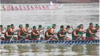 Giỗ tổ Hùng Vương – Lễ hội Đền Hùng 2019: Lễ hội bơi chải truyền thống trên sông Lô