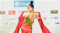 Thí sinh Miss World Việt Nam hoá các thiếu nữ dân tộc thể hiện tài năng