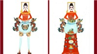 'Bàn thờ' vào top 18 trang phục dân tộc cho Hoàng Thùy thi Miss Universe 2019