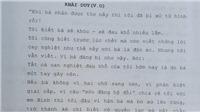 'Tiếng sét trong mưa' lộ kịch bản tập cuối: Trước giờ bị tử hình, Khải Duy viết thư tuyệt mệnh