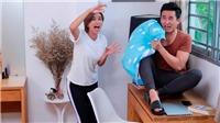 Tập 7 'Muôn kiểu làm dâu':Cô vợ hả hê khi chồng 'khóc' vì sợ... con gián!
