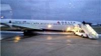 Mỹ: Máy bay chở 107 hành khách trượt khỏi đường băng