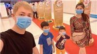 Sao Việt 'ứng phó' khi con ốm, nghỉ học giữa tâm điểm dịch bệnh nCoV
