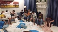 Bà Rịa-Vũng Tàu: Phát hiện, xử lý 25 thanh niên tụ tập sử dụng ma túy