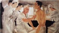 Bảo tàng Mỹ thuật Việt Nam giới thiệu tác phẩm tri ân những bác sĩ ngày đêm chống dịch