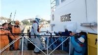 Cứu nạn một thuyền viên bị thương khi đánh bắt hải sản tại khu vực quần đảo Trường Sa