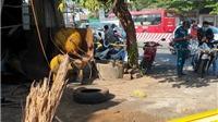 Bình Dương: Nổ bình khí nén, người vá lốp xe tử vong