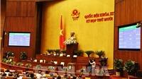 Quốc hội phê chuẩn ba thành viên Chính phủ và Thẩm phán Tòa án nhân dân tối cao