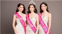 VIDEO: Hoa hậu Đỗ Mỹ Linh cùng 2 Á hậu Thanh Tú, Thùy Dung hội ngộ trước khi hết nhiệm kỳ