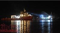 Khẩn trương điều tra vụ cháy nghiêm trọng tàu chở dầu Hải Hà