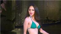 VIDEO: Hương Giang Idol trình diễn bikini bốc lửa tại Hoa hậu chuyển giới 2018
