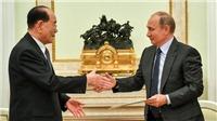 Có gì trong 'phong thư khổng lồ' nhà lãnh đạo Triều Tiên Kim Jong-un gửi Tổng thống Putin?