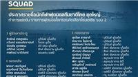 VIDEO: Đội tuyển Thái Lan chỉ còn 2 tiền đạo, thua 5 trong 8 trận từ năm 2019