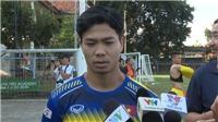 VIDEO bóng đá: Công Phượng nói gì về bản thân và trận đấu với Indonesia?