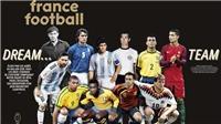 Tranh cãi xung quanh đội hình 11 cầu thủ xuất sắc nhất lịch sử của France Football