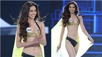Ngắm tân Hoa hậu Hoàn vũ Việt Nam 2019 Khánh Vân mướt mắt trong phần thi bikini