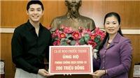 Noo Phước Thịnh góp 200 triệu đồng đẩy lùi COVID-19, Mỹ Lệ kêu gọi hơn 600 triệu cho miền Tây