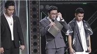 'Rap Việt': Trấn Thành, Karik đồng loạt bật khóc, Wowy tung Nón vàng bất kể ai bị loại