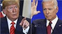 Bầu cử Mỹ 2020: Ứng cử viên Biden dẫn trước Tổng thống Trump ở nhiều bang