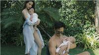 Sao Việt khoe ảnh gia đình hạnh phúc đầu năm