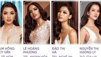Thuý vân, Đào Hà lọt Top 4 'Best Face' của Hoa hậu Hoàn vũ Việt Nam 2019