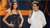 Trấn Thành chọc ghẹo người đẹp Hoa hậu Hoàn vũ Việt Nam trong đêm tổng duyệt