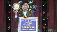 Đỗ Tùng Lâm đoạt giải quán quân 'Người kể chuyện tình'