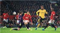MU 1-1 Arsenal: Tấn công bế tắc, MU chia điểm với Arsenal ngay tại Old Trafford