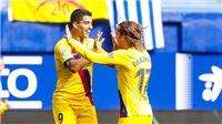KẾT QUẢ BÓNG ĐÁ Eibar 0-3 Barcelona: Chiến thắng dễ dàng của nhà ĐKVĐ