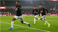 Sheffield United 3-3 MU: Rượt đuổi kịch tính đến phút cuối cùng