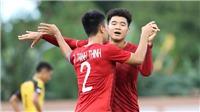 Kết quả U22 Malaysia 1-1 U22 Myanmar, U22 Việt Nam 6-0 U22 Brunei