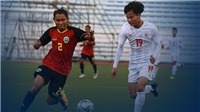 U22 Đông Timor 1-3 U22 Myanmar: Chiến thắng thuyết phục