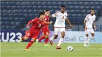 Trực tiếp bóng đá hôm nay VTV6: U23 Việt Nam vs U23 UAE, U23 châu Á 2020