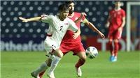 U23 Triều Tiên 1-2 U23 Jordan: U23 Jordan vươn lên dẫn đầu bảng D
