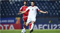Kết quả bóng đá U23 Jordan 1-1 U23 UAE: Dắt tay nhau đi tiếp