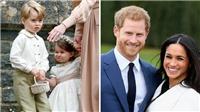 Công chúa và Hoàng tử nhà William sẽ làm phù dâu, phù rể trong đám cưới chú Harry