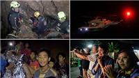 TOÀN CẢNH vụ giải cứu đội bóng Thái Lan Wild Boars qua các con số