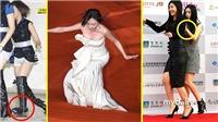 Những pha hài hước nhất của sao Hàn trên thảm đỏ: BTS 'quán quân'