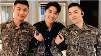 Big Bang: Daesung, Taeyang rủ Seungri diễn hit trong quân đội