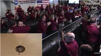 VIDEO: NASA vỡ òa trong giây phút tàu thăm dò InSight đáp xuống sao Hỏa thành công