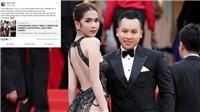 Ngọc Trinh nói gì khi bị 'ném đá' vì chiếc váy 'mặc như không' tại Cannes