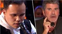 'Got Talent Mỹ': Thanh niên tự kỉ, khiếm thị khiến giám khảo 'mặt lạnh' Simon Cowell phải 'nhớ đến hết đời'